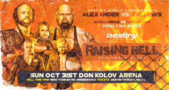 destiny wrestling