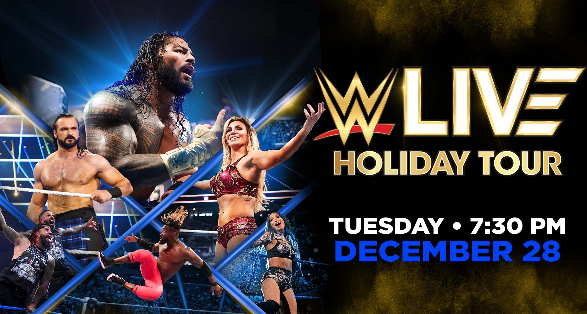 Tickets Available for WWE Washington DC December Holiday Event