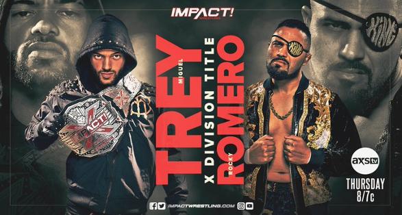 Updated Card for Thursday's IMPACT Wrestling