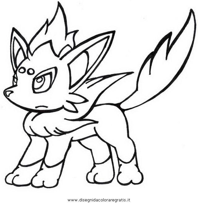 zorua pokemon colouring pages
