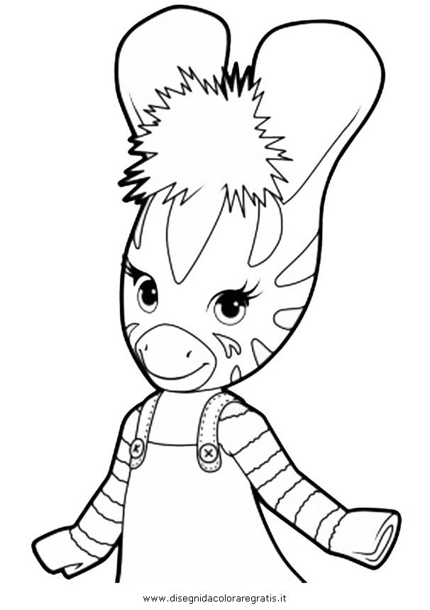 Disegno Zou6 Personaggio Cartone Animato Da Colorare
