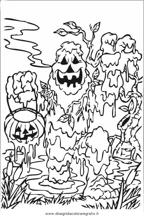 Disegno Halloweenmostri43 Categoria Halloween Da Colorare