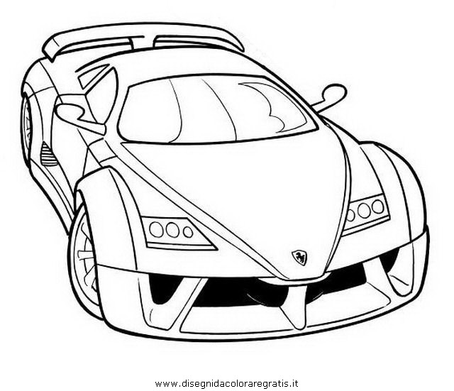 ferrari colouring pages page 2