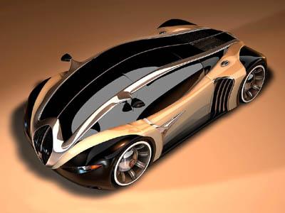 Concept Cars: Peugeot 4002 - designed by Stefan Schulze - 2003 for Peugeot