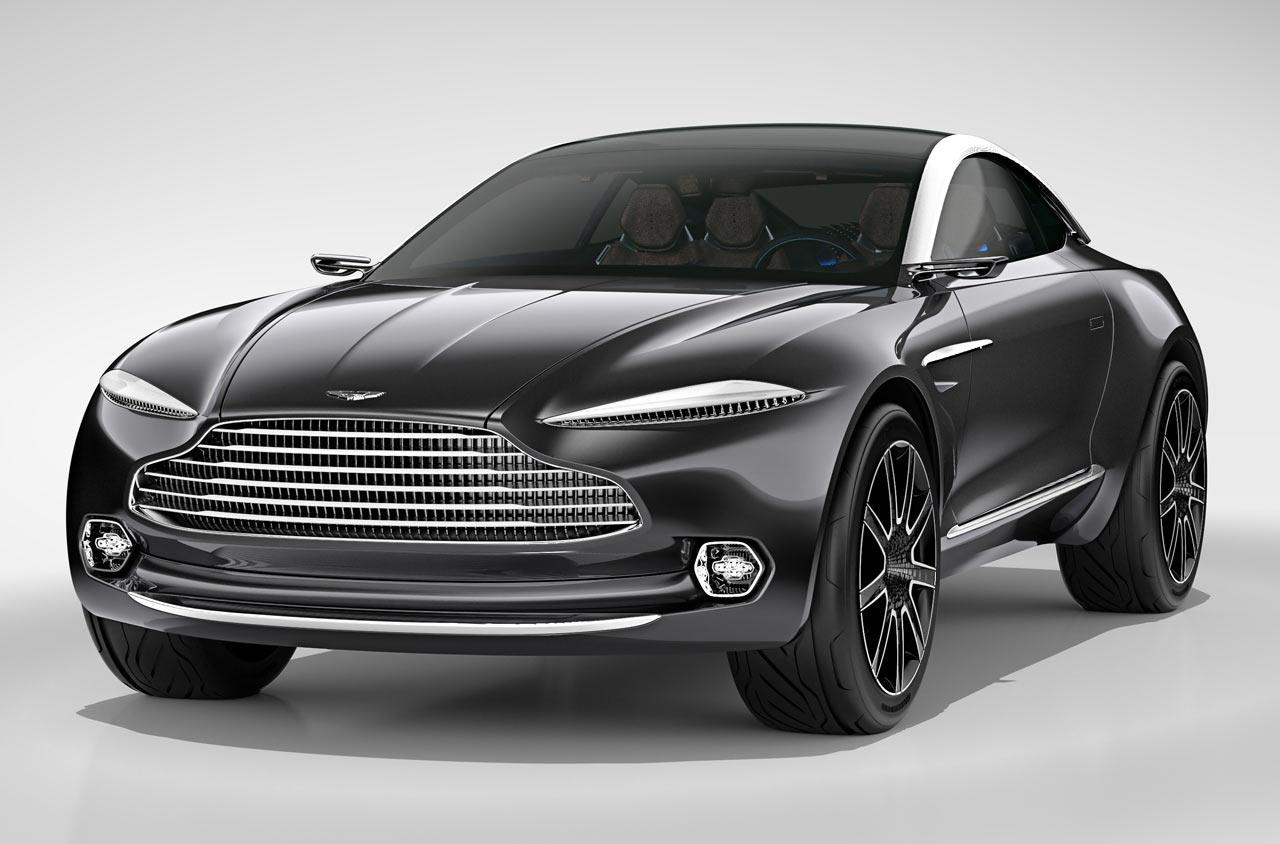Aston Martin DBX Concept Cars Diseno Art