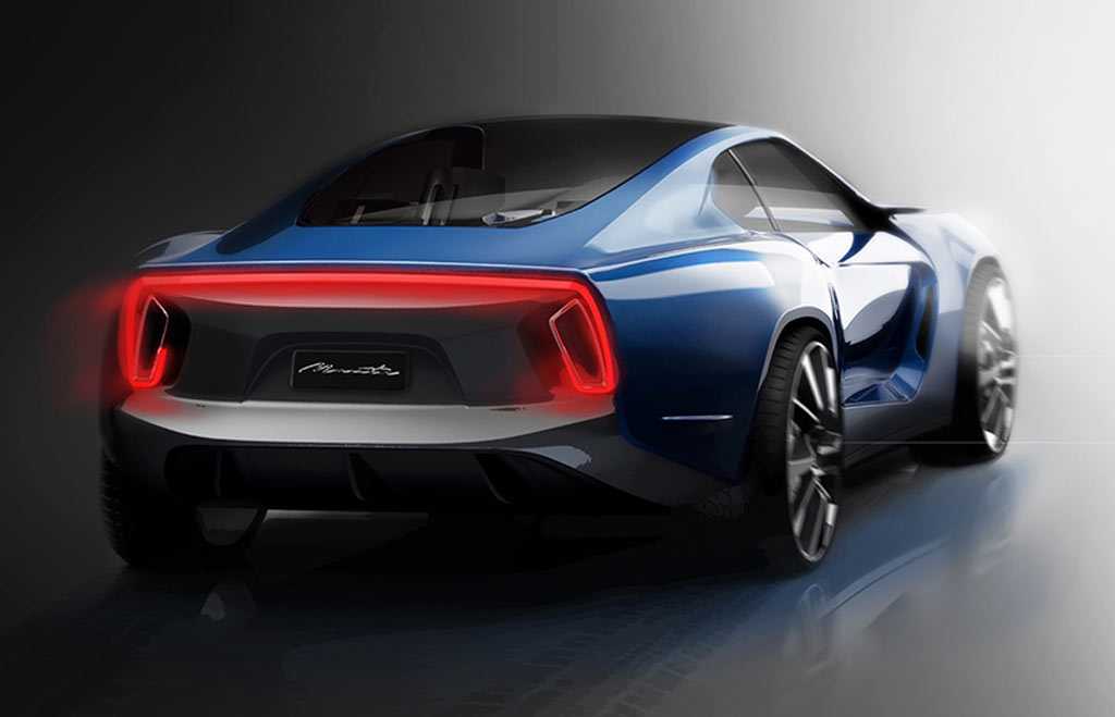 Opel Manta Concept Cars Diseno Art