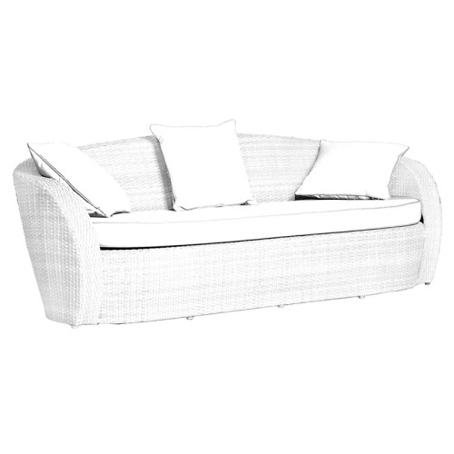 3 SEATER SOFA A008E ice white
