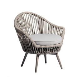 DAISY SWIVEL CHAIR SILVER A318A 2