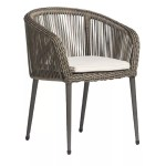 Rossi arm chair HALF ROUND 5MM TAUPE C105 3 800x800 1