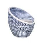Salima swivel sofa CRISTAL 7 MM WIKER SHELL BLUE 800X800 2 2