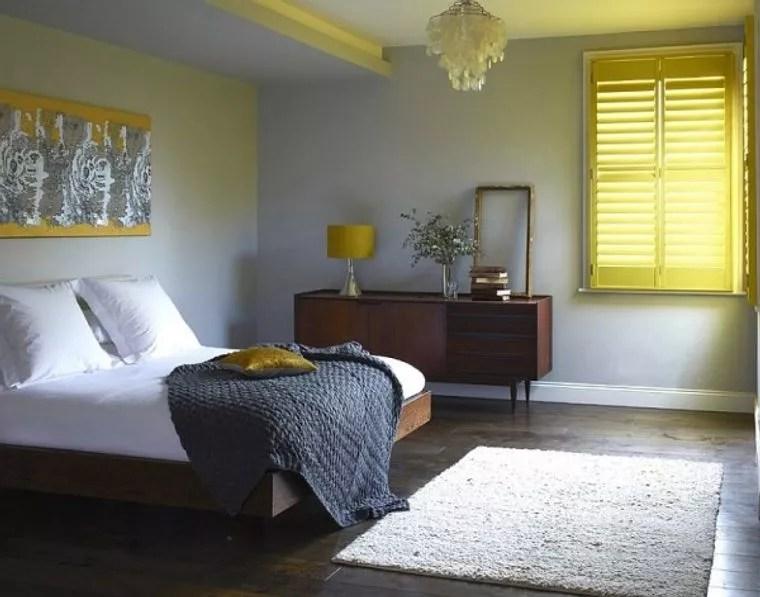 tendencias decoracion amarillo gris