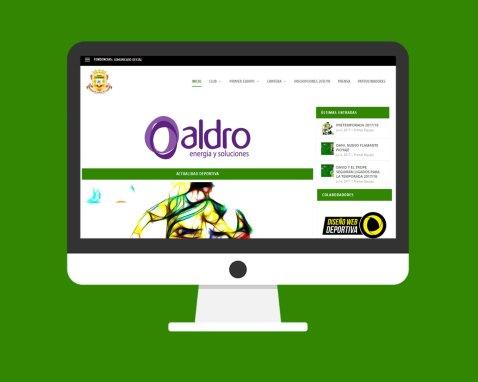 Página Web Club Deportivo Tropezón