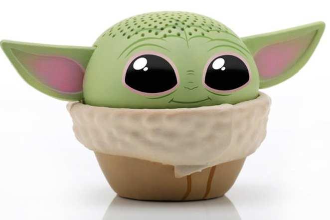 Baby Yoda Toys Bluetooth Speaker