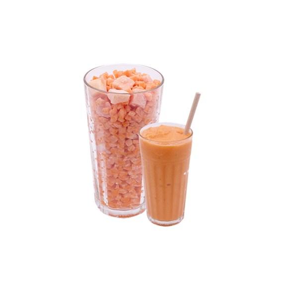 Catálogo de Fruta Congelada Zumo Zanahoria Mandarina Piña Jengibre Disfruta