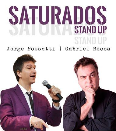 Saturados Stan Up en Rosario