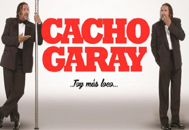Cacho Garay en Rosario presenta Toy más loco