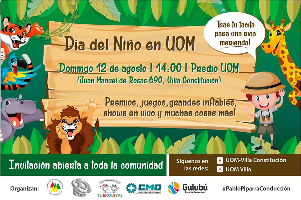 Día del Niño en Rosario: Actividades cerca de la ciudad