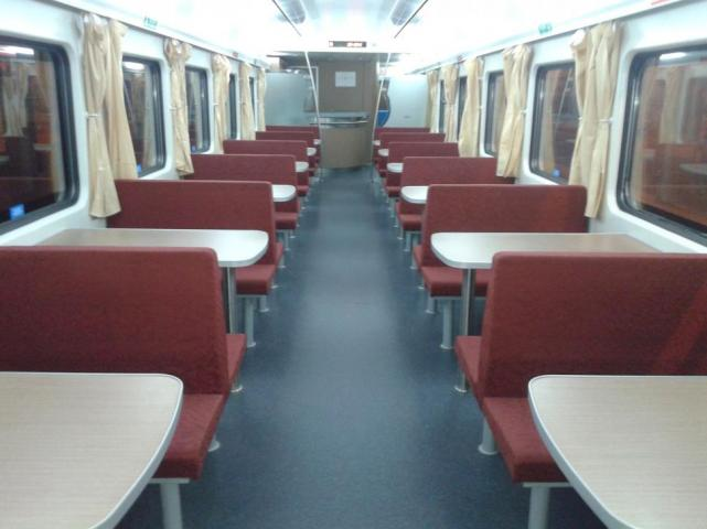 Trenes Argentinos larga distancia fotos