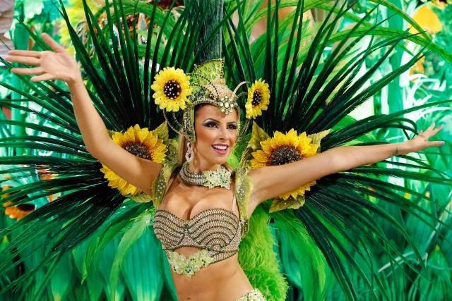 Desfile de carnaval en Rosario