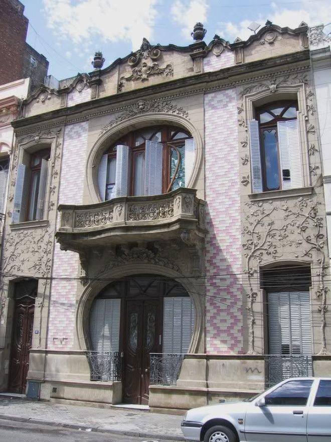 Casas Art Nouveau Rosario