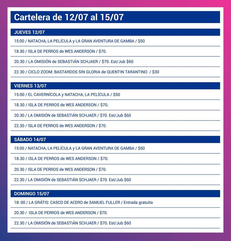 Tardes de cine en Rosario con entradas a precios populares
