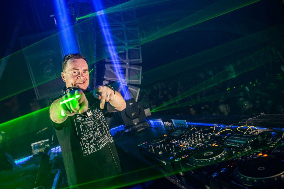 DJ Nick Warren en Rosario