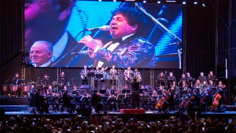 Los Palmeras sinfónico en Rosario