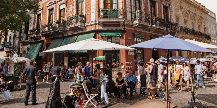 Ruta turística Buenos Aires