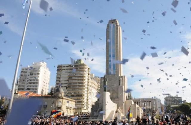 Promesa de lealtad a la bandera en Rosario