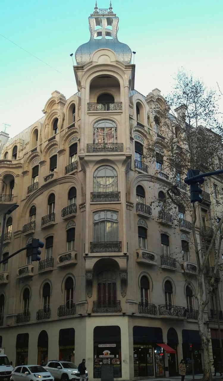 Hotel Chile, art nouveau en Buenos Aires