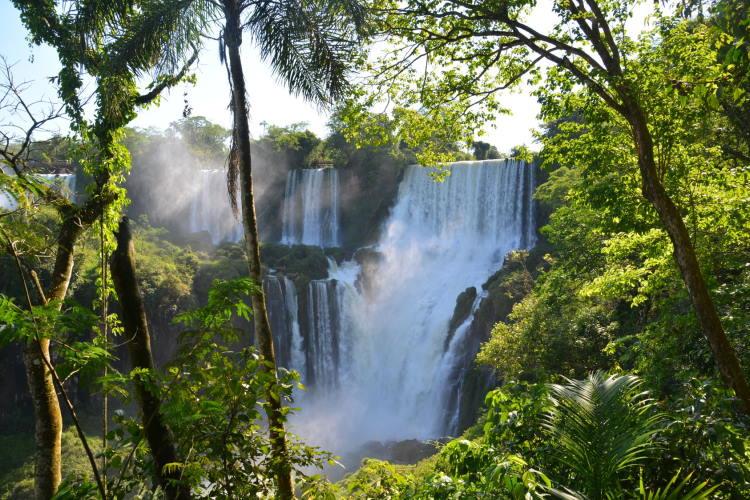 Donde se encuentra el Parque Nacional Iguazu
