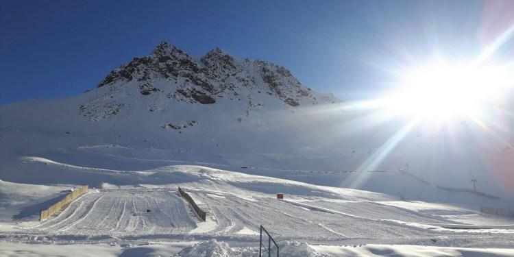 Los Pukios parque de nieve en Mendoza