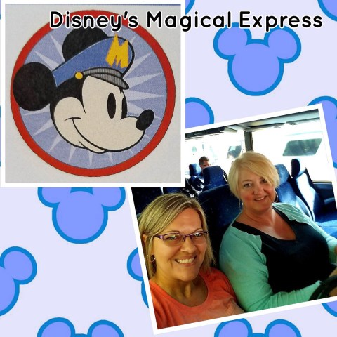 Elle & Tina on the magical express