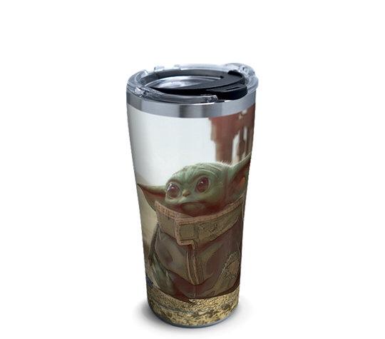 Baby Yoda on Tervis tumbler