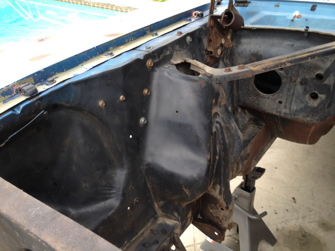 disgustang engine compartment clean