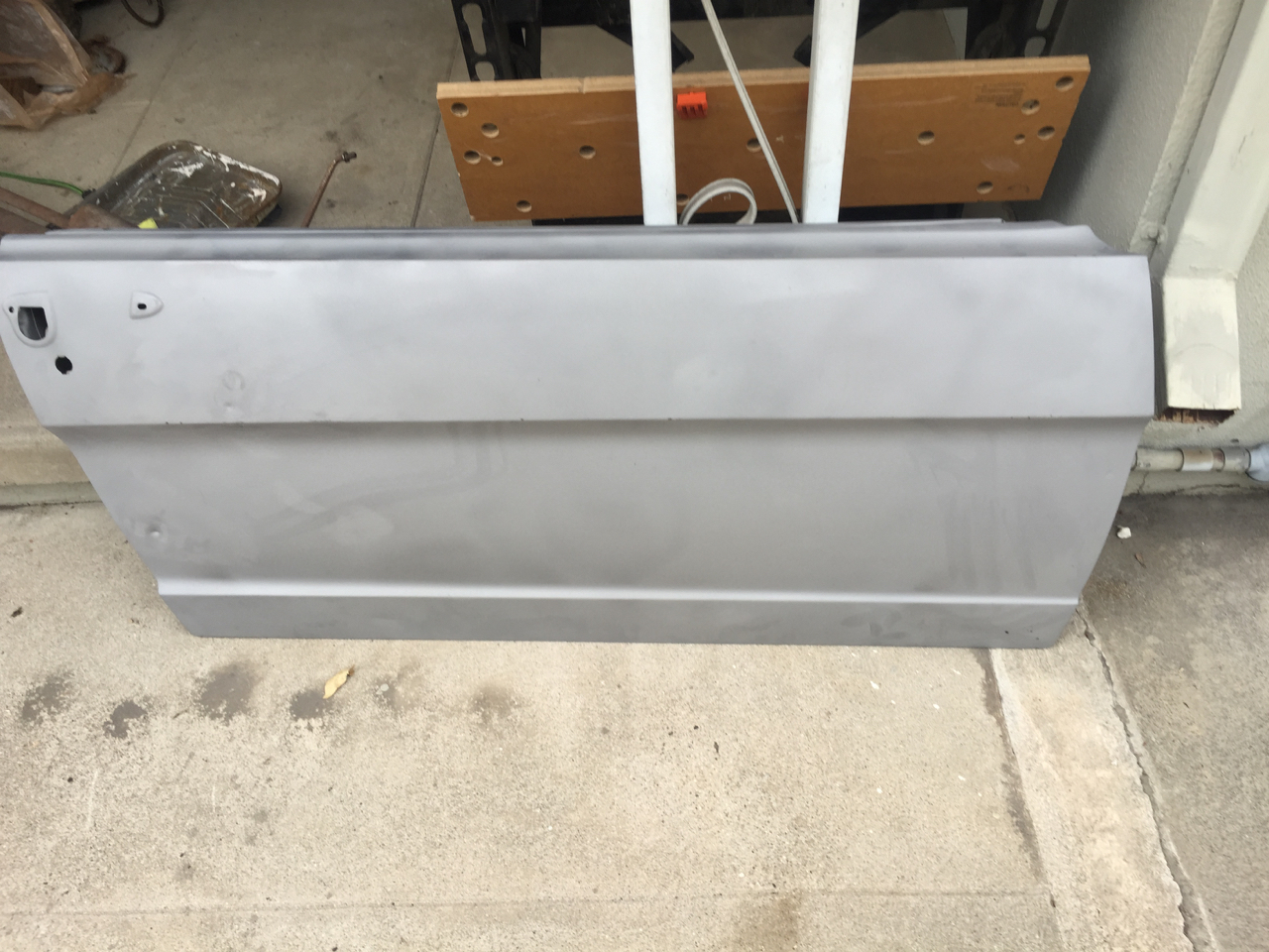 replacing reproduction door with oem door