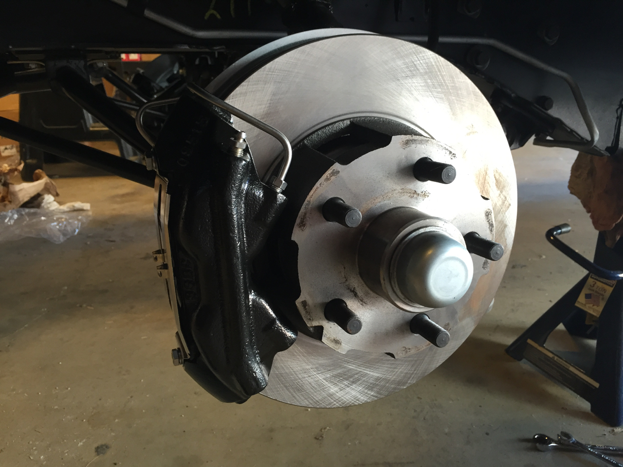 Mustang ssbc power disc brake