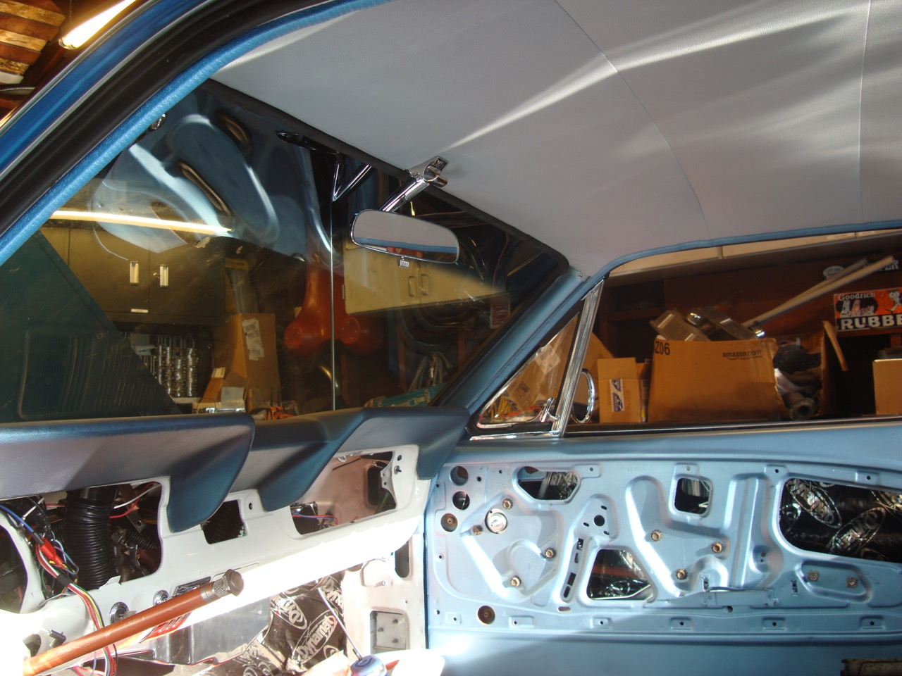 Ford tooling dash pad 1966 mustang