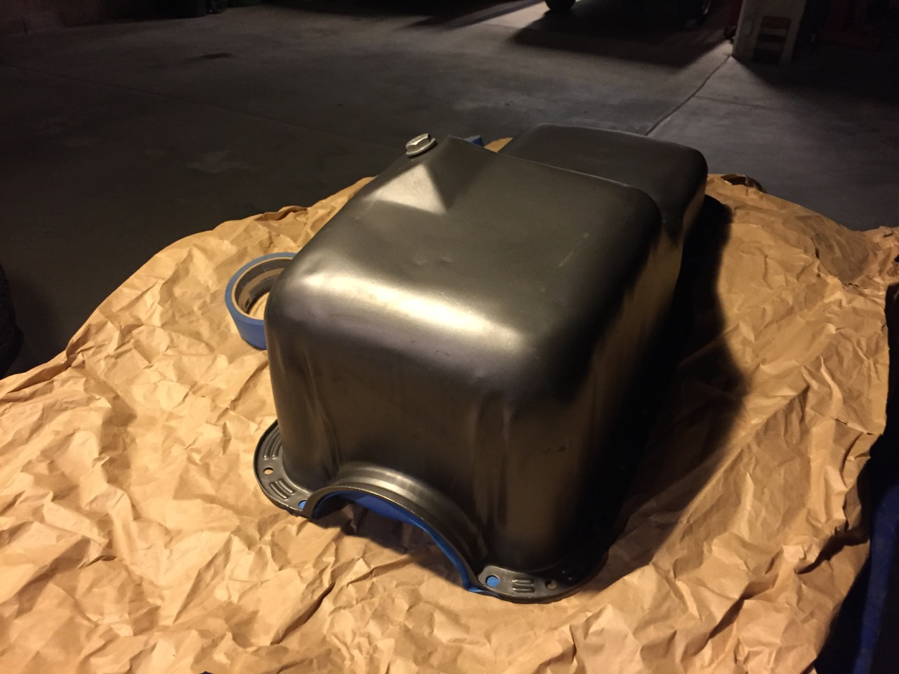 Oil Pan from Ford Saves the Day