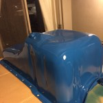 Good used oil pan painted