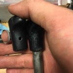 hole in other side handle