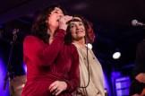 May Britt Andersen og Inger Lise Rypdal leverte sammen med resten av besetningen i Chipahua en flott konsert.