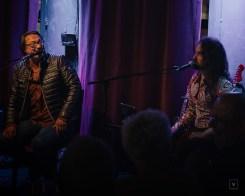 Vidar Johnsen og Skjalg Raaen, Cafe 3B. Foto: Eirunn Smaaland Oppheim (@viljesterk)