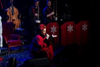 Silya and the Bad Santas på Byscenen. Foto: Frank Valde