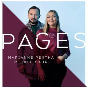 Marianne Pentha, Mikkel Gaup Pages Coverart. deltager til Delfinale 4 i MGP 2021