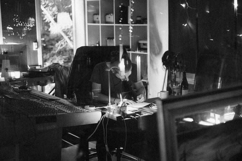 Sorthvitt bilder fra studio