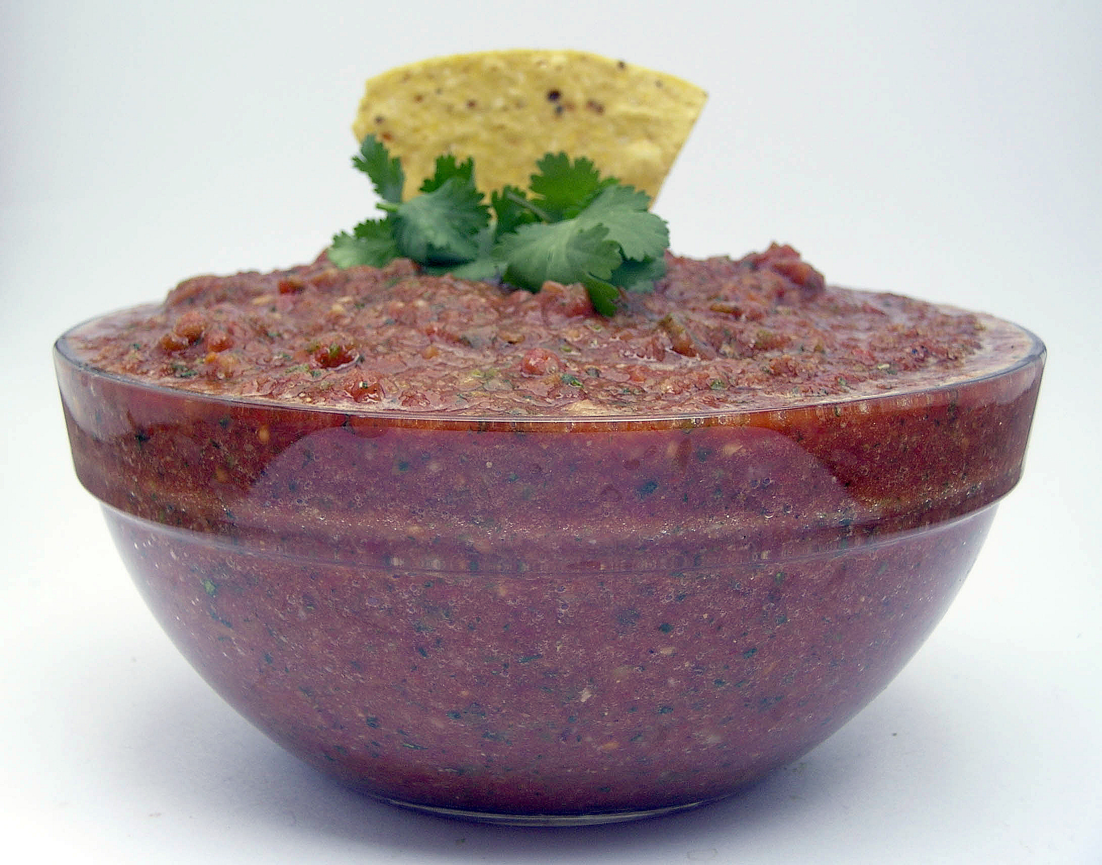Easy salsa in food processor