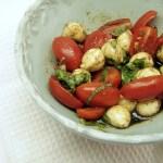 Kid-Size Caprese Salad in Five Minutes