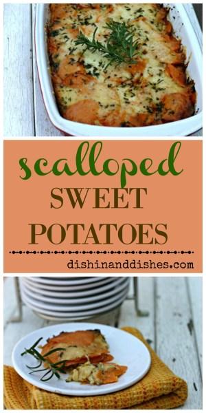 Scalloped Sweet Potato Recipe