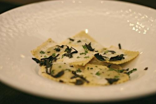 ravioli with truffles District 21